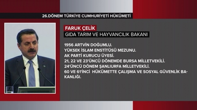 Türkiye Cumhuriyeti 64. Hükümeti 9