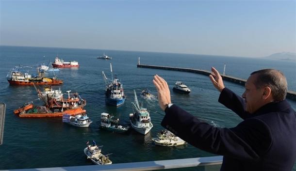 Başbakan Erdoğan'a balıkçı sürprizi 1