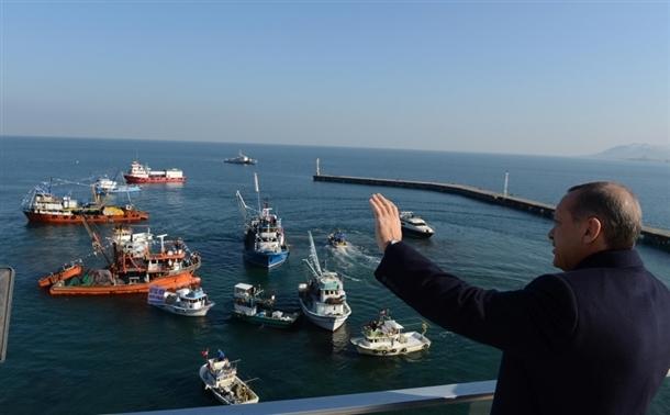 Başbakan Erdoğan'a balıkçı sürprizi 6