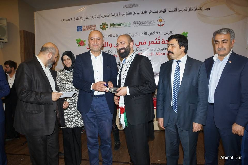 Mehir Vakfı'ndan Filistinli gençlere toplu düğün 29
