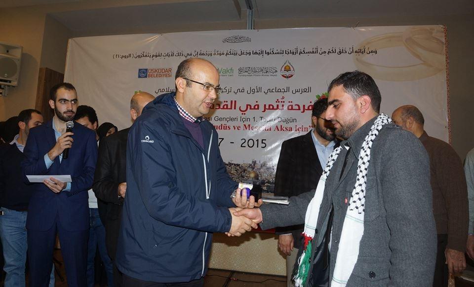 Mehir Vakfı'ndan Filistinli gençlere toplu düğün 30