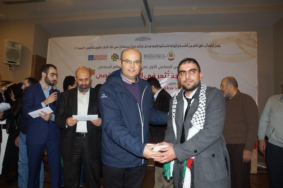 Mehir Vakfı'ndan Filistinli gençlere toplu düğün 31
