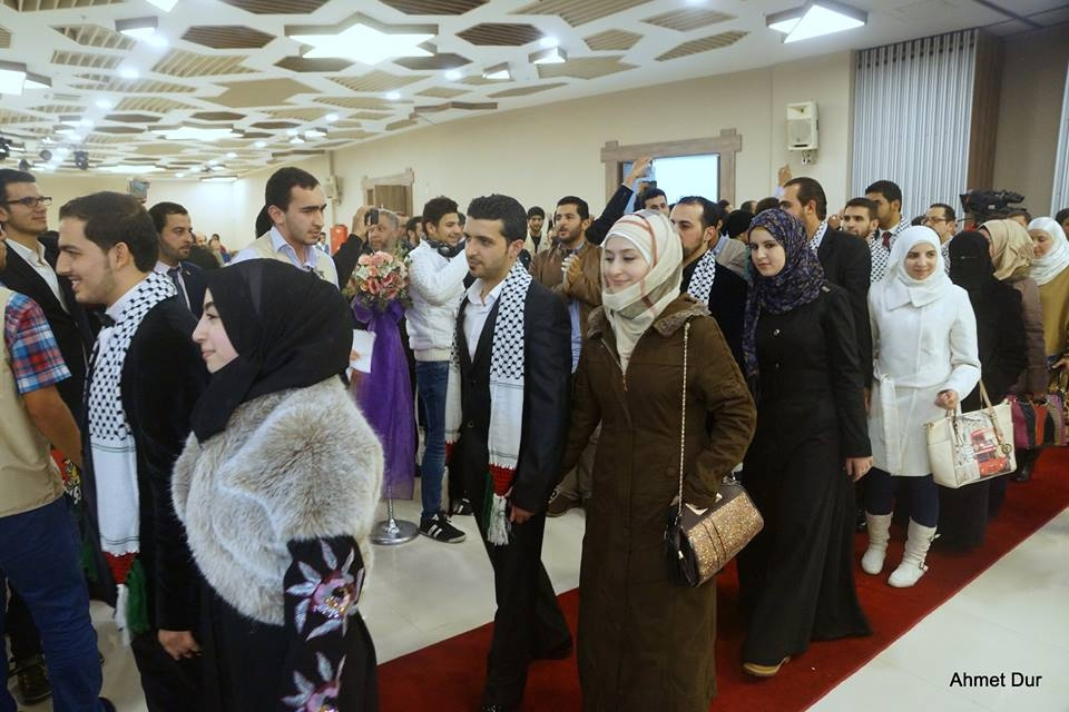 Mehir Vakfı'ndan Filistinli gençlere toplu düğün 36