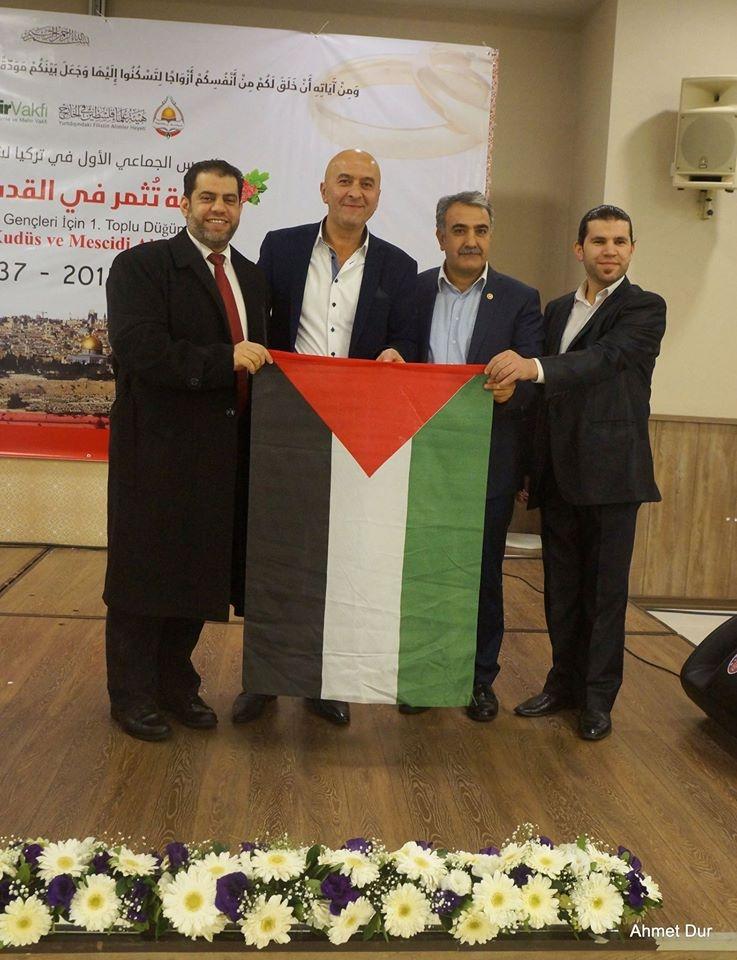 Mehir Vakfı'ndan Filistinli gençlere toplu düğün 4