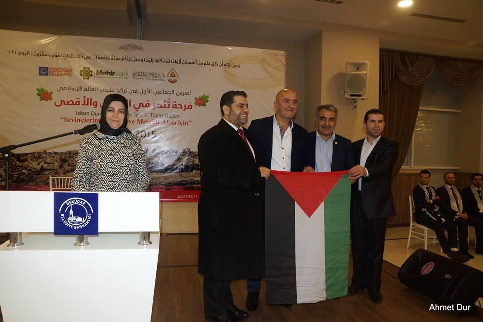 Mehir Vakfı'ndan Filistinli gençlere toplu düğün 5