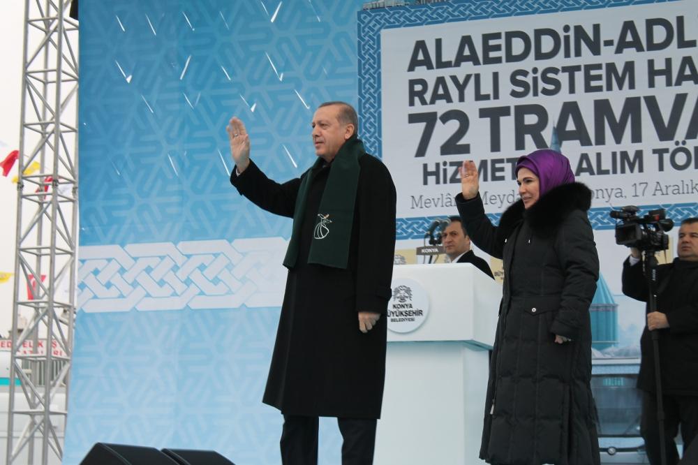 Cumhurbaşkanı Erdoğan Konya'da konuştu 3