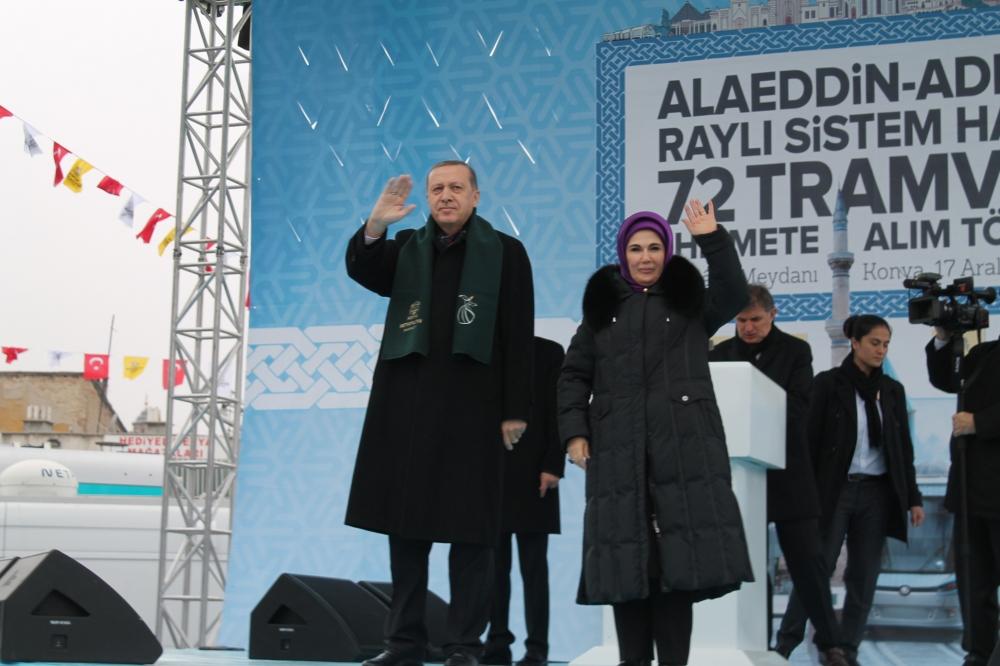Cumhurbaşkanı Erdoğan Konya'da konuştu 4