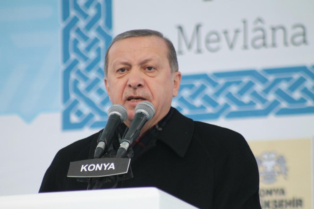 Cumhurbaşkanı Erdoğan Konya'da konuştu 9