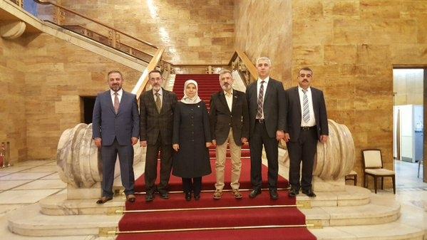 MÜSİAD Heyeti Başkent'e çıkarma yaptı 15