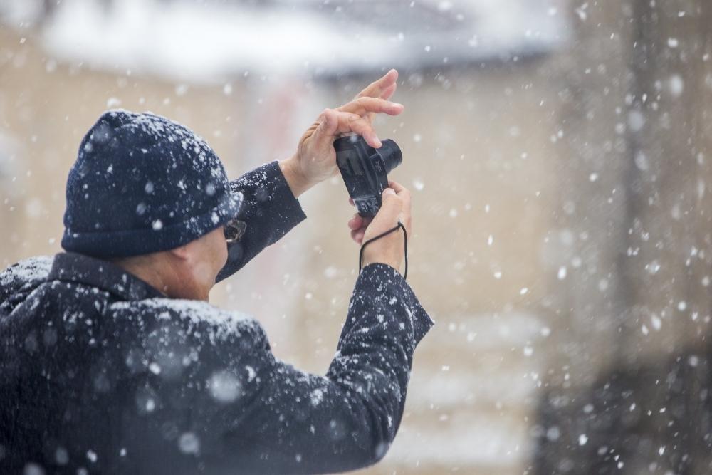Konya'da kar yağışı 11