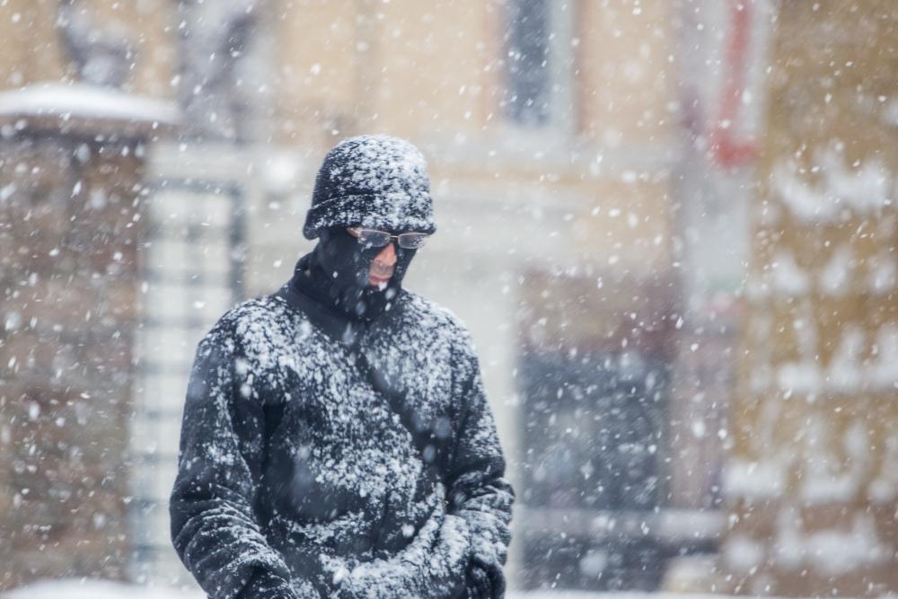 Konya'da kar yağışı 12