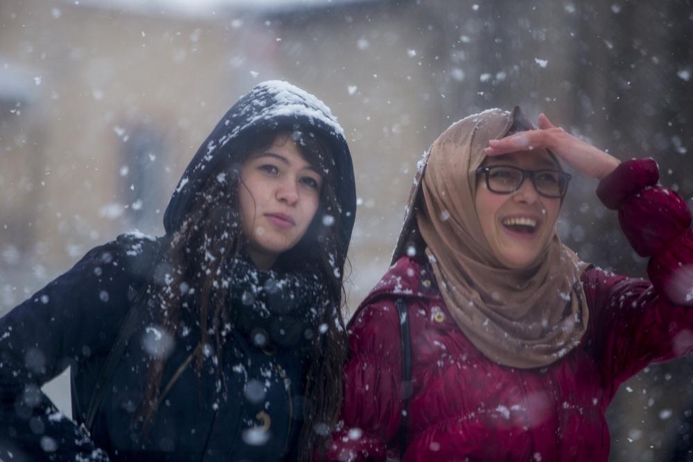 Konya'da kar yağışı 13