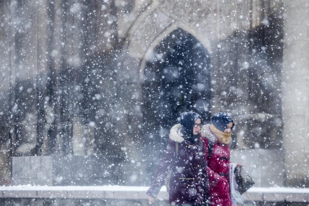 Konya'da kar yağışı 14