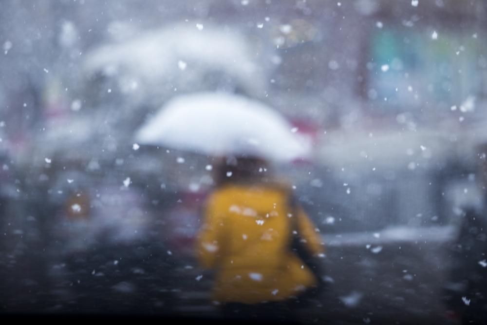 Konya'da kar yağışı 15