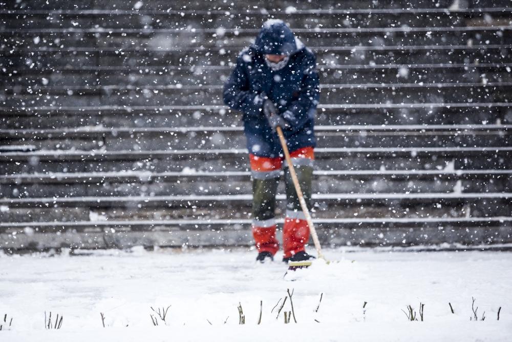 Konya'da kar yağışı 16