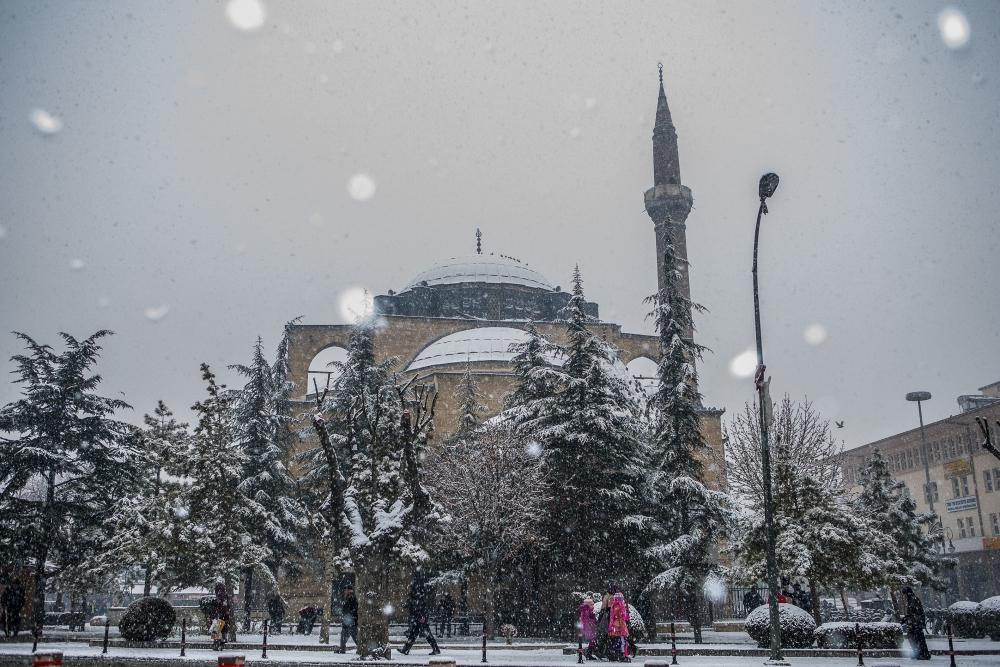 Konya'da kar yağışı 2