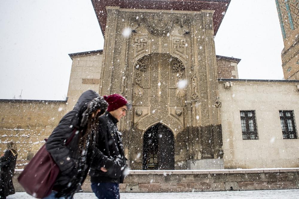 Konya'da kar yağışı 3
