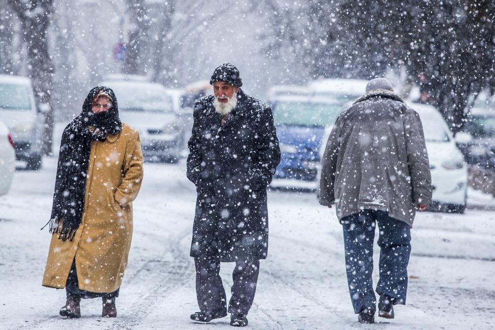 Konya'da kar yağışı 5
