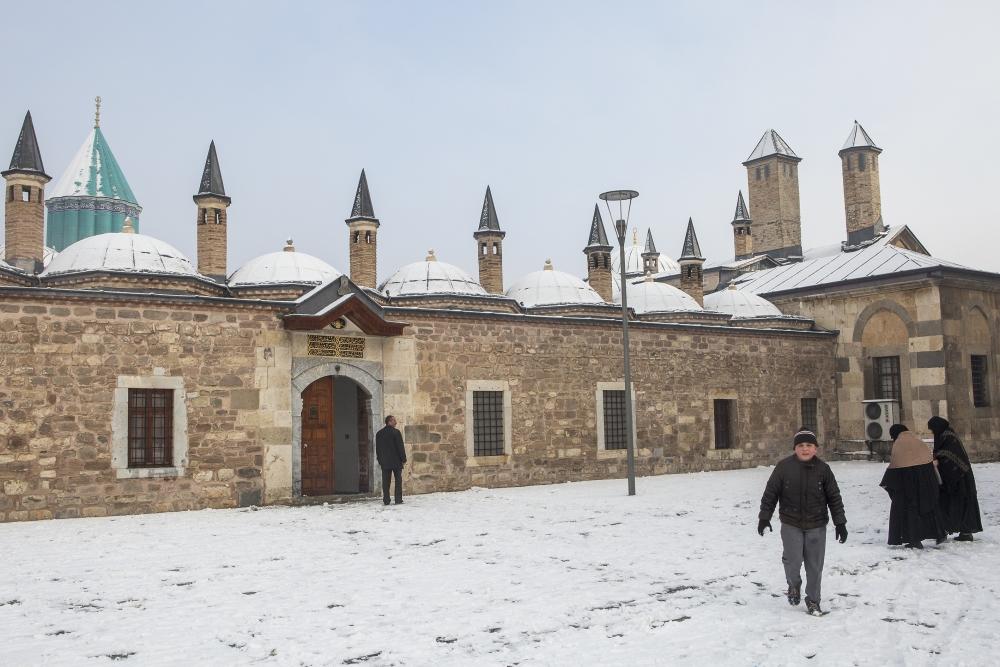 Konya'da kar yağışı 7