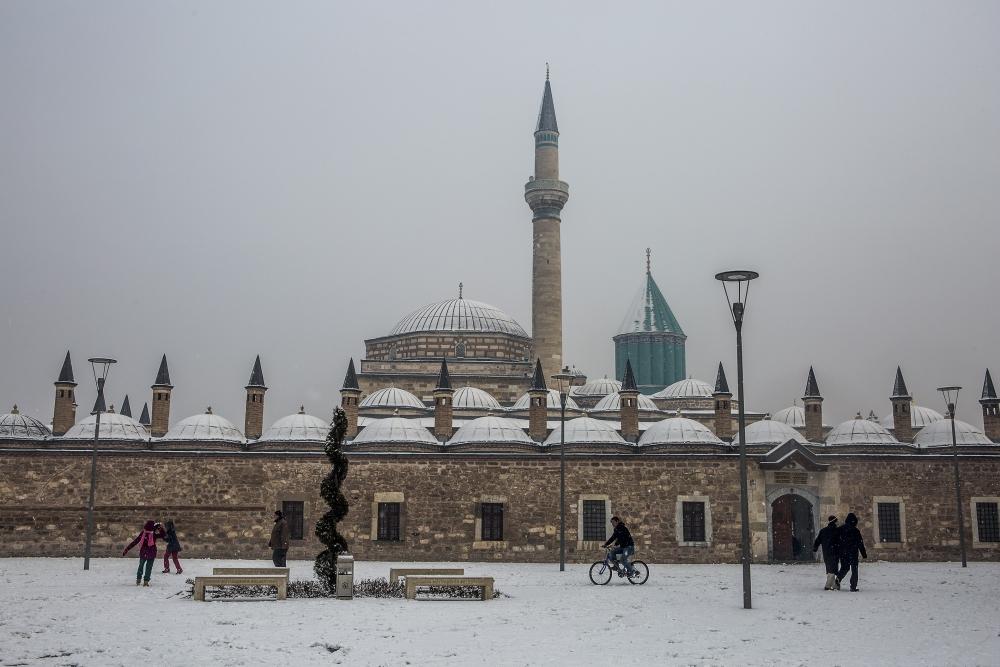 Konya'da kar yağışı 8