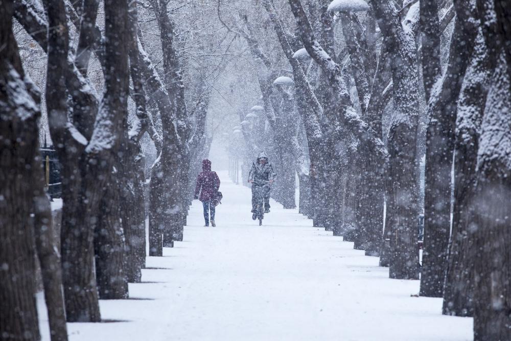 Konya'da kar yağışı 9