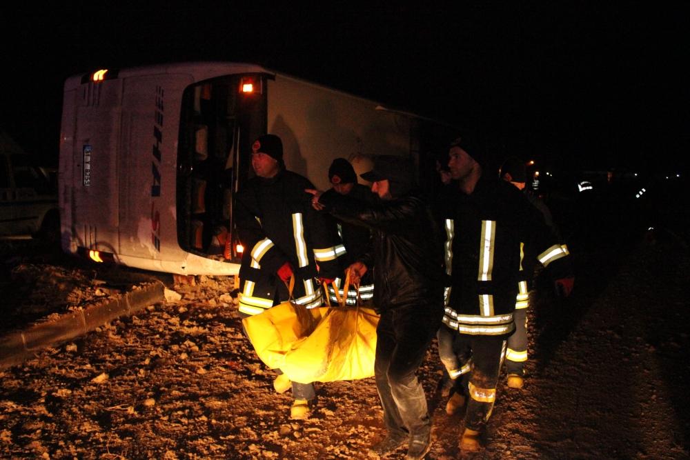Konya'da trafik kazası: 6 ölü 1