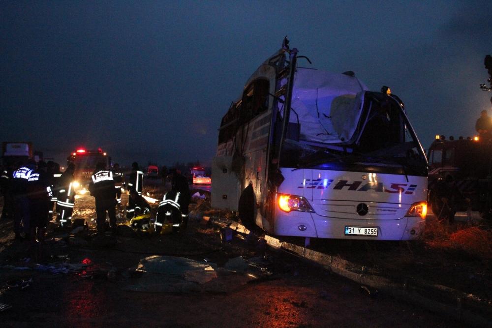 Konya'da trafik kazası: 6 ölü 3