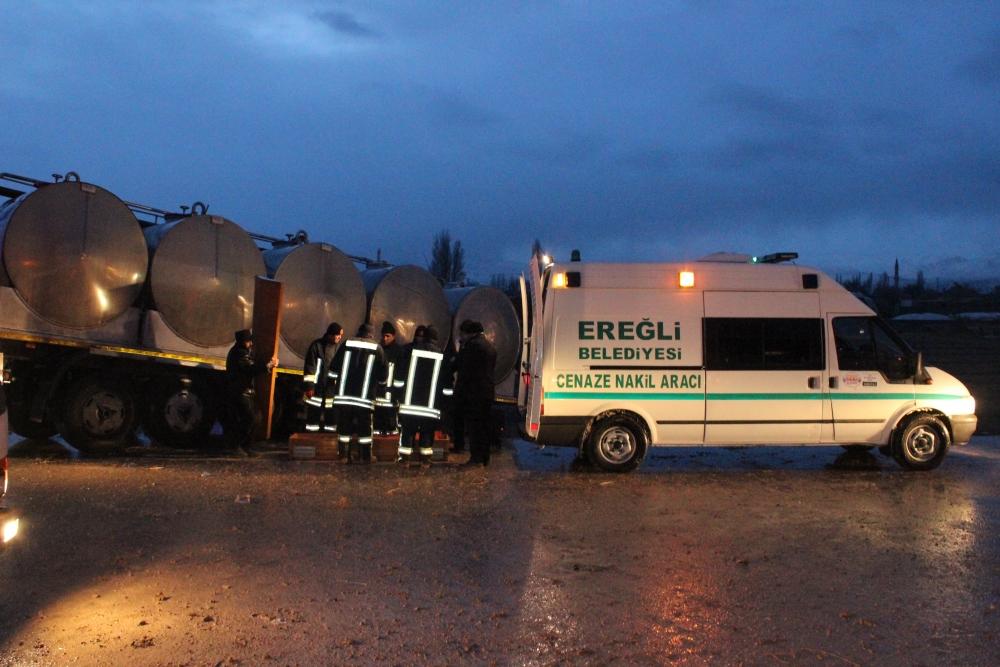 Konya'da trafik kazası: 6 ölü 4