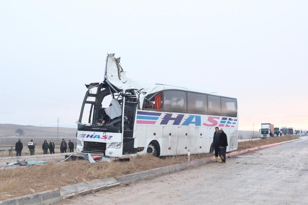 Konya'da trafik kazası: 6 ölü 6