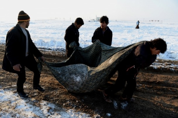 Dondurucu soğuklar en çok onları vurdu 12