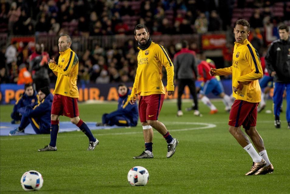 Arda Turan Barcelona'da sezonu açtı 10