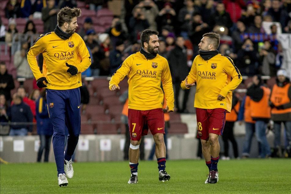 Arda Turan Barcelona'da sezonu açtı 11