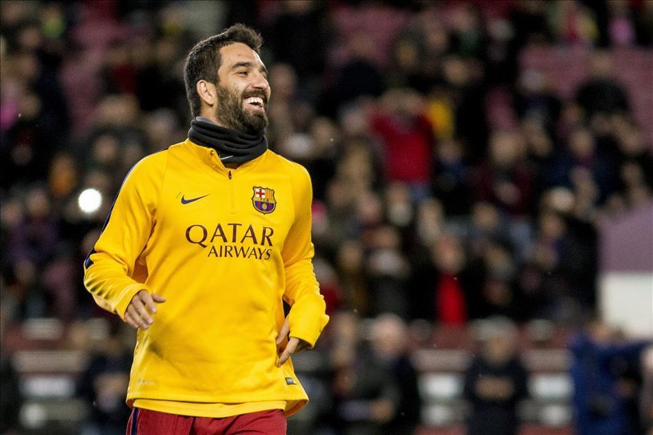 Arda Turan Barcelona'da sezonu açtı 12