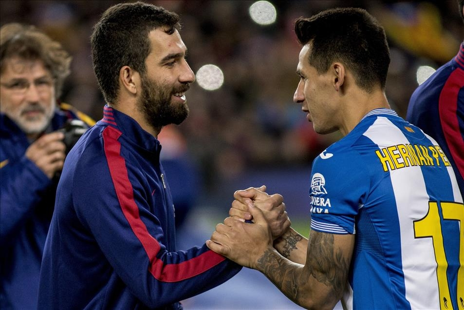 Arda Turan Barcelona'da sezonu açtı 8