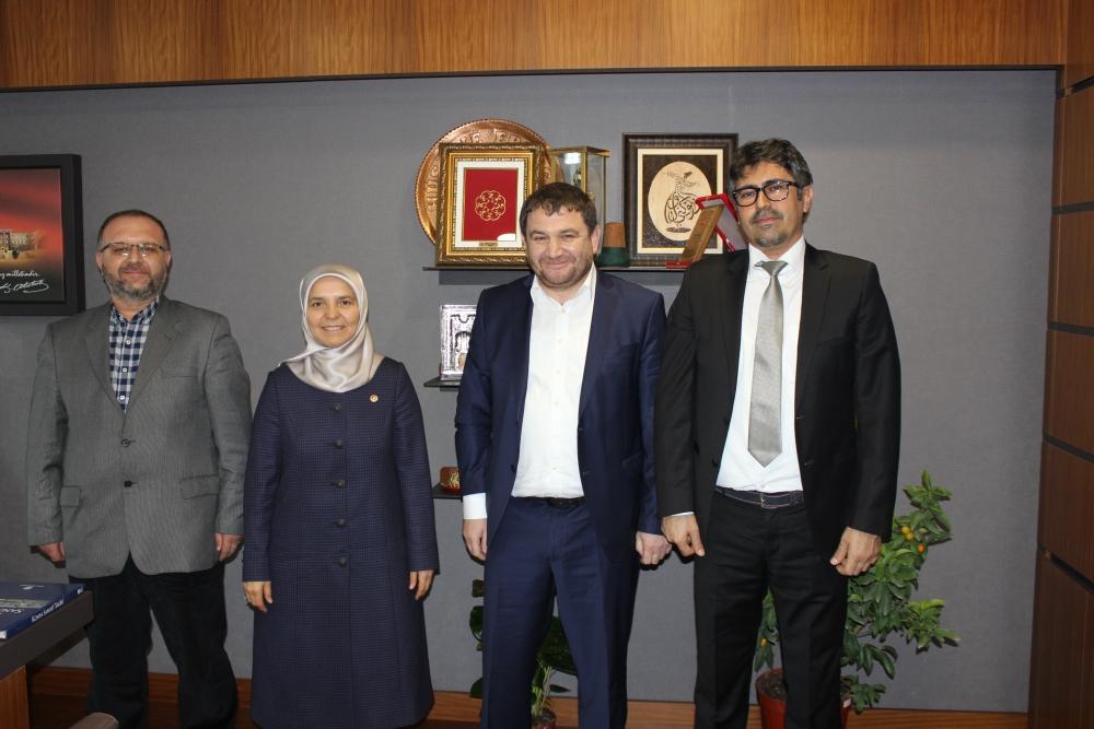 Yeni Haber'den AK Parti Konya milletvekillerine ziyaret 1