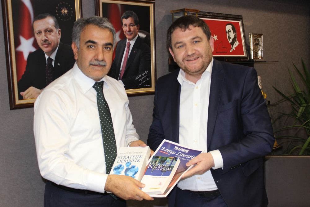 Yeni Haber'den AK Parti Konya milletvekillerine ziyaret 14