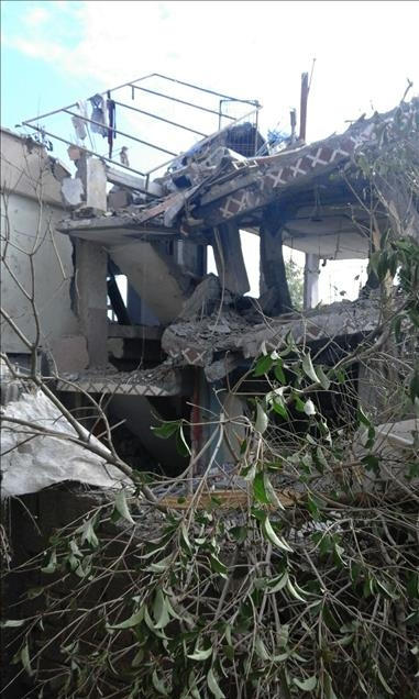Terör örgütü PKK'nın Silopi'deki tahribatı ortaya çıktı 10