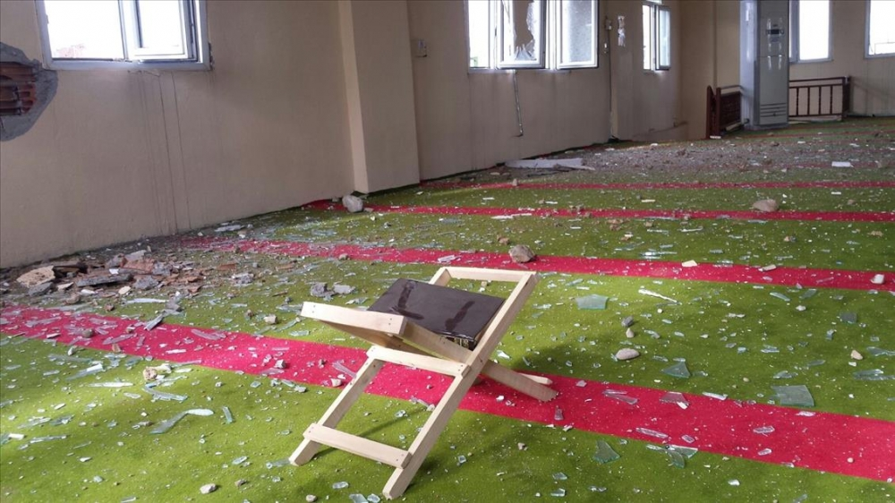 Terör örgütü PKK'nın Silopi'deki tahribatı ortaya çıktı 16