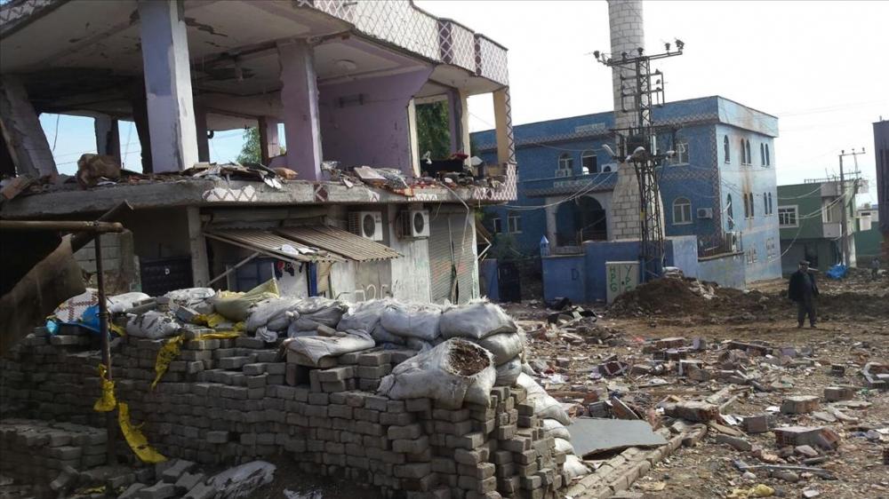 Terör örgütü PKK'nın Silopi'deki tahribatı ortaya çıktı 4