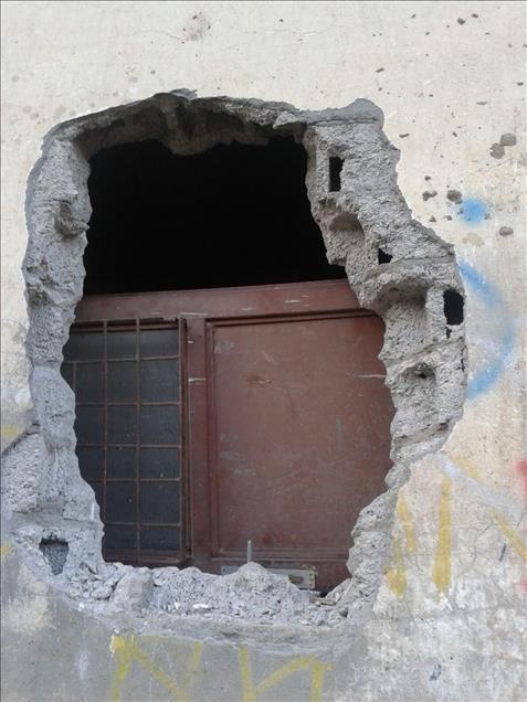 Terör örgütü PKK'nın Silopi'deki tahribatı ortaya çıktı 7