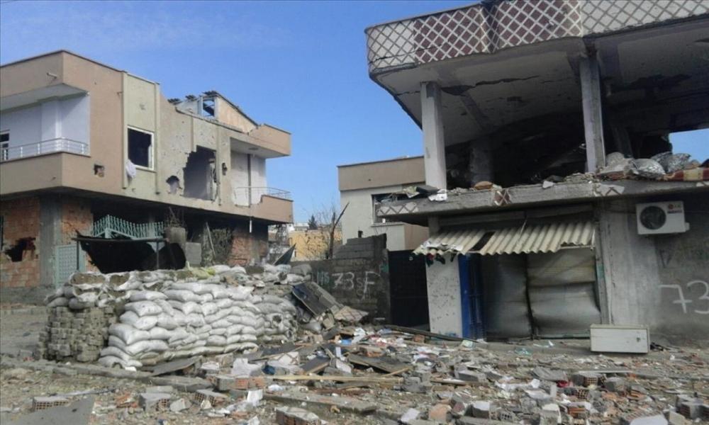 Terör örgütü PKK'nın Silopi'deki tahribatı ortaya çıktı 9