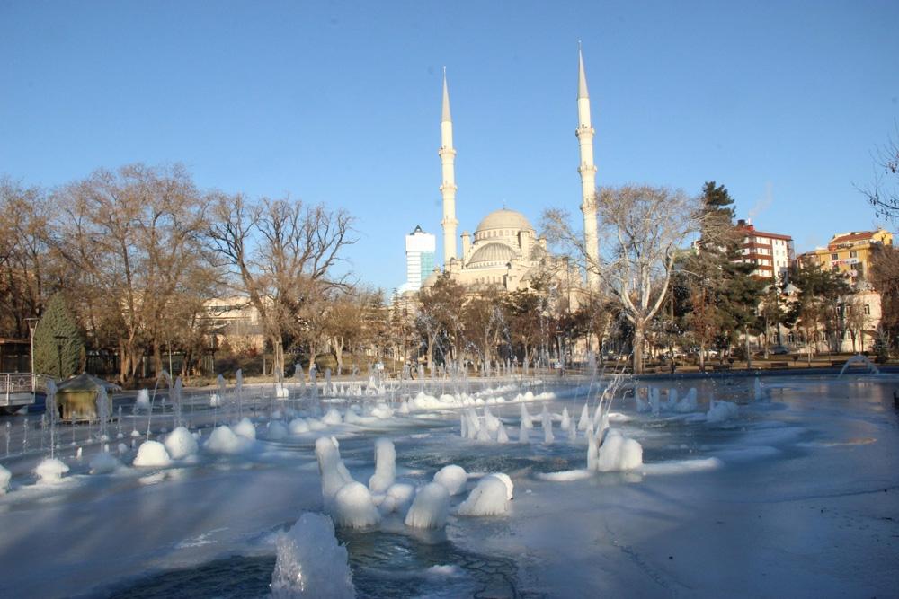 Konya buz tuttu 10
