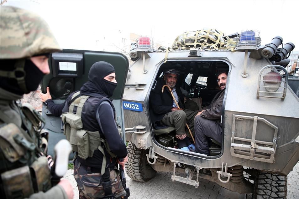 Terör engelinden Mehmetçik'e sığındılar 8
