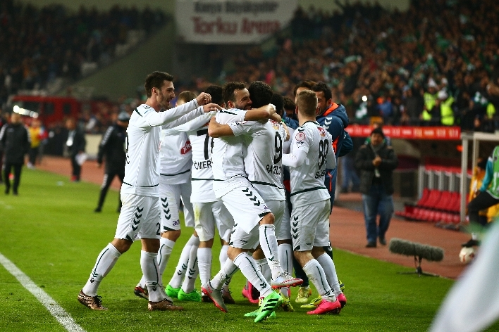 Torku Konyaspor çeyrek finalde 20