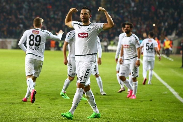 Torku Konyaspor çeyrek finalde 21