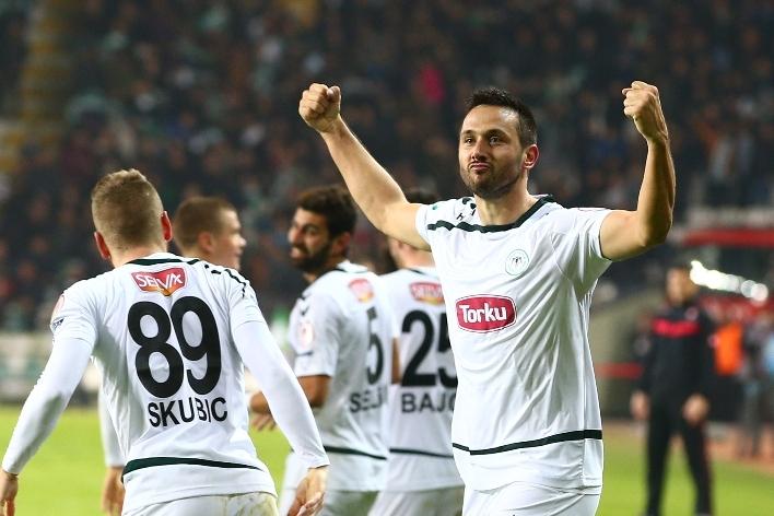 Torku Konyaspor çeyrek finalde 28