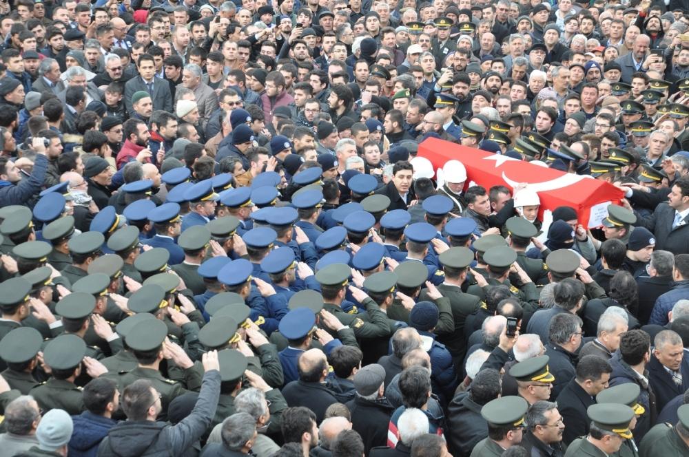 Konya, Sur şehidini son yolculuğuna uğurladı 9