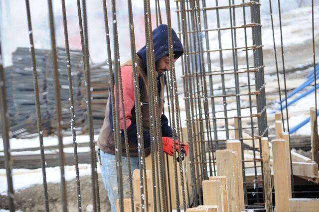 İnşaat işçilerinin soğuk çilesi 2