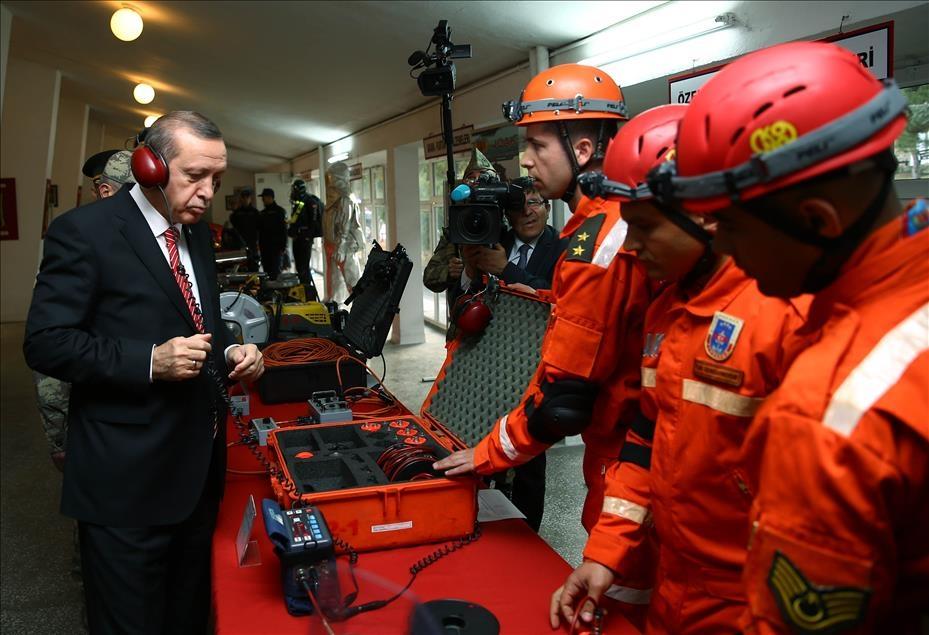 Cumhurbaşkanı Erdoğan'dan güvenlik güçlerine ziyaret 10
