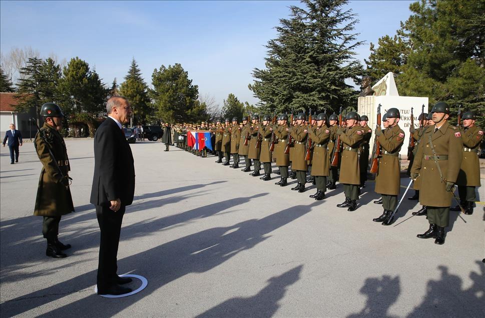 Cumhurbaşkanı Erdoğan'dan güvenlik güçlerine ziyaret 11